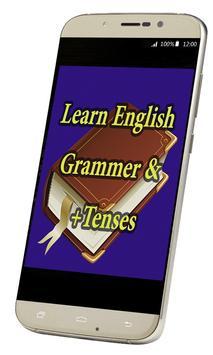 Easy English Grammer & Tenses poster