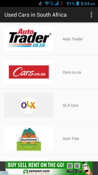 Buy Used Cars in South Africa poster