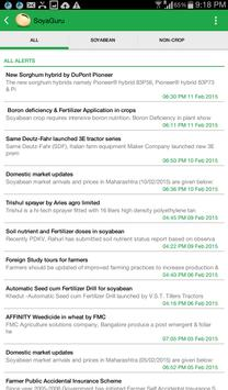 SoyaGuru - free soybean info apk screenshot