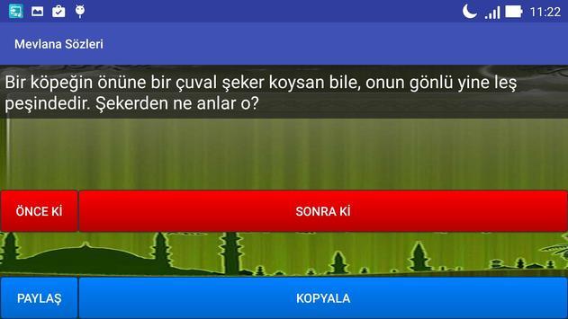 Mevlana Sözleri apk screenshot