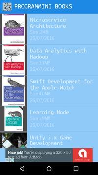 Free Programming Books apk screenshot