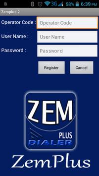 Zemplus Mobile Dialer poster