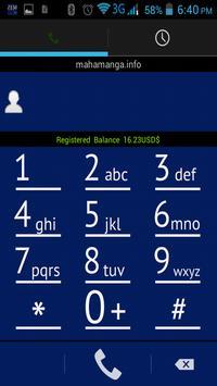 Zemplus Mobile Dialer apk screenshot