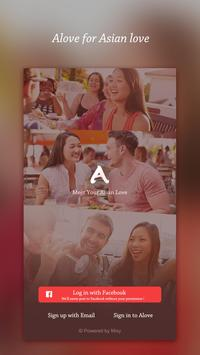 Alove - Asian & Chinese Dating poster