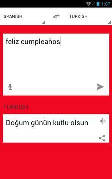 Ispanyolca türkçe çeviri apk screenshot