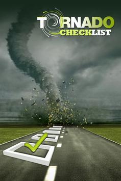 Tornado-Checklist poster