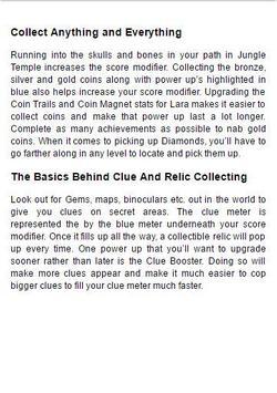 Guide Laracroft Relic Run 2016 apk screenshot