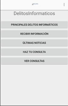 Delitos Informáticos poster