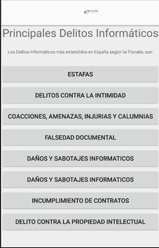 Delitos Informáticos apk screenshot