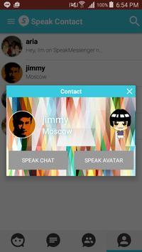 Speak Messenger apk screenshot