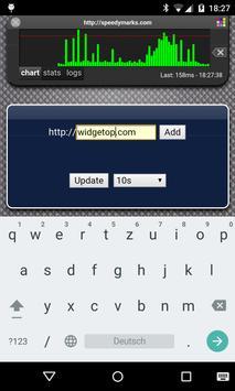 Web Monitor Free apk screenshot