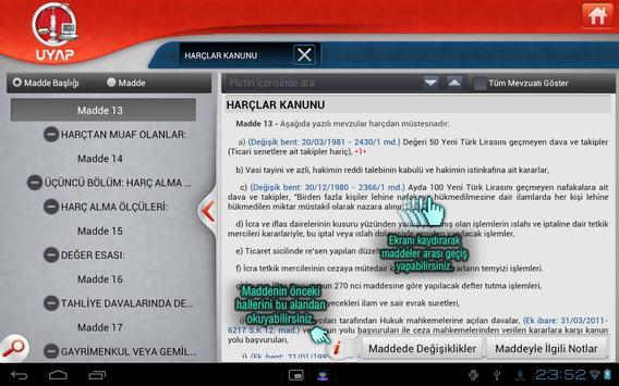 UYAP Mobil Mevzuat apk screenshot