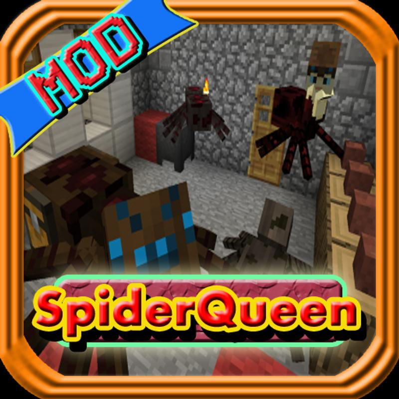 Spider queen mcpe mod guide apk download free for Kitchen queen mod apk