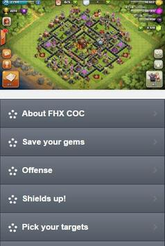 FHX Clash Of Clans poster