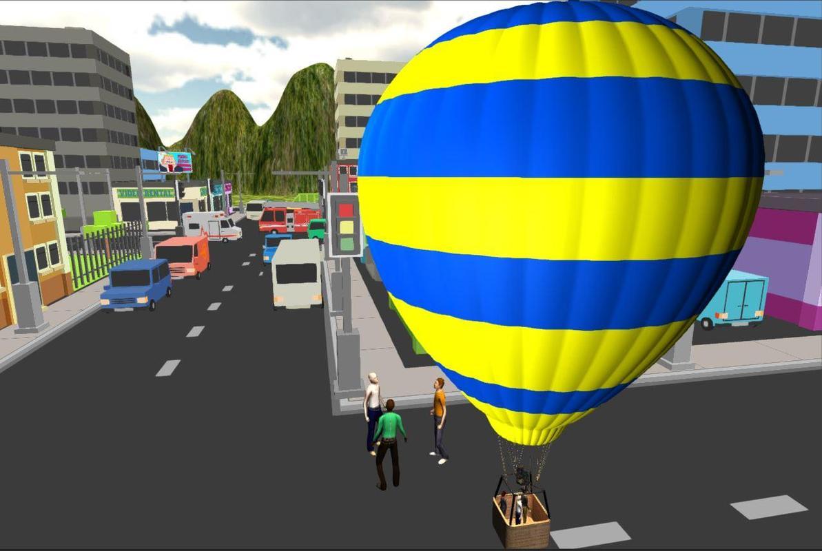 Hot air balloon flight apk download free simulation game for Air balloon games