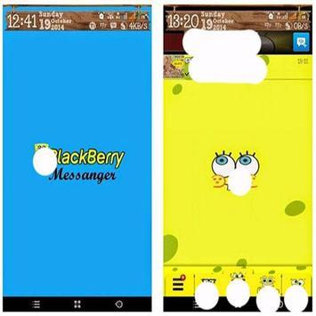Tema SPONGEE BOBs BBeM for bbm apk screenshot