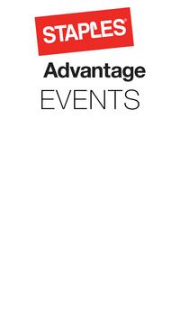 Staples Advantage Events poster