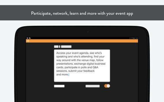 Cybersecurity Forum 2015 apk screenshot