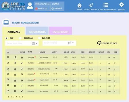 FIDAPS MOBILE apk screenshot