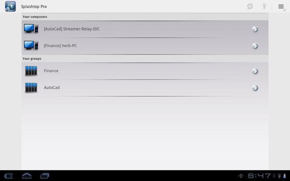 Splashtop Pro App apk screenshot