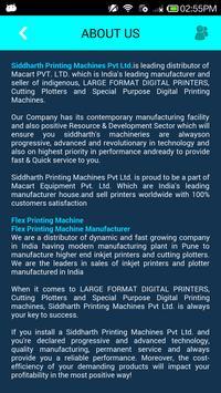 SIDDHARTH PRINTING MACHINES apk screenshot