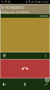 Maxxvoip Dialer No-2 apk screenshot