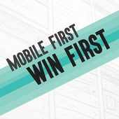 MOBILE FIRST WIN FIRST icon