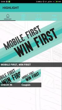MOBILE FIRST WIN FIRST poster