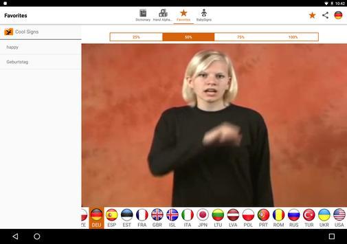 Spread Signs apk screenshot