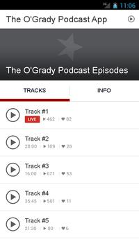 The O'Grady Podcast App poster