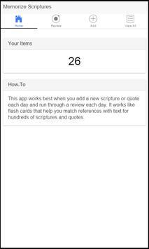Memorize Scriptures V2 apk screenshot