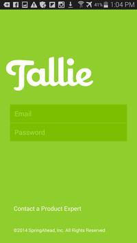 Tallie poster