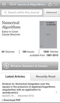 Numerical Algorithms apk screenshot