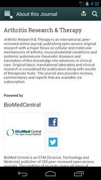 Arthritis Research & Therapy apk screenshot