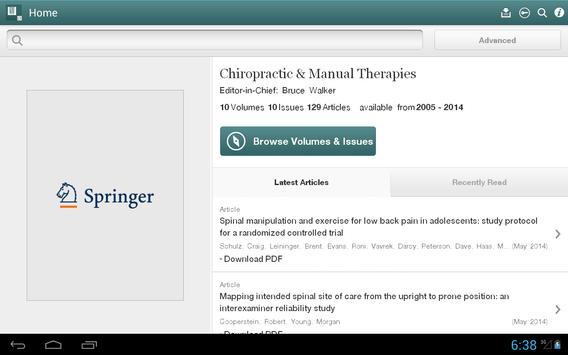 Chiropractic Manual Therapies apk screenshot