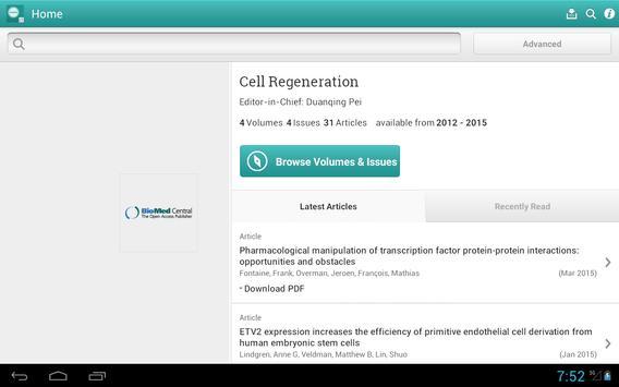 Cell Regeneration apk screenshot