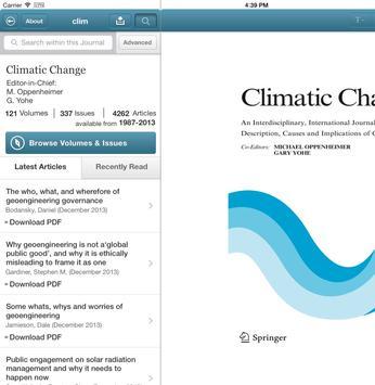 Climatic Change apk screenshot