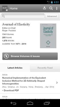 Journal of Elasticity poster