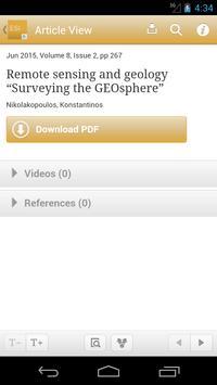 Earth Science Informatics apk screenshot