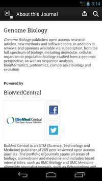 Genome Biology apk screenshot