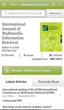 J Multimedia Information Retr poster