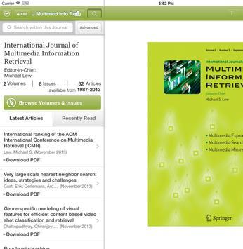 J Multimedia Information Retr apk screenshot