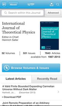 Intl J of Theoretical Physics poster