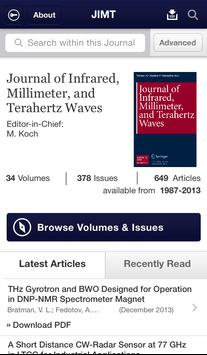 J of IR Millimeter THz Waves poster