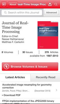 J Real-Time Image Processing poster