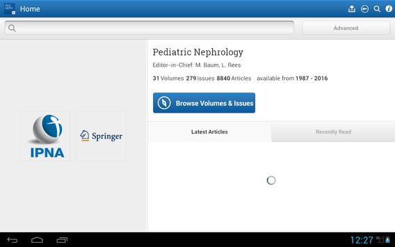 Pediatric Nephrology – IPNA apk screenshot