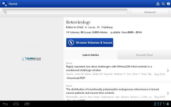 Retrovirology apk screenshot