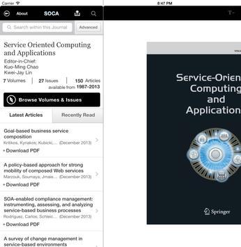 SOCA Journal apk screenshot