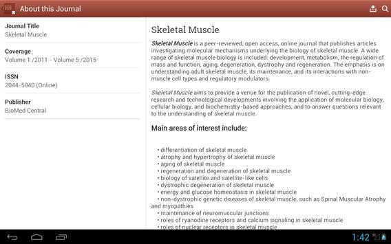 Skeletal Muscle apk screenshot