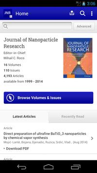 J of Nanoparticle Research poster